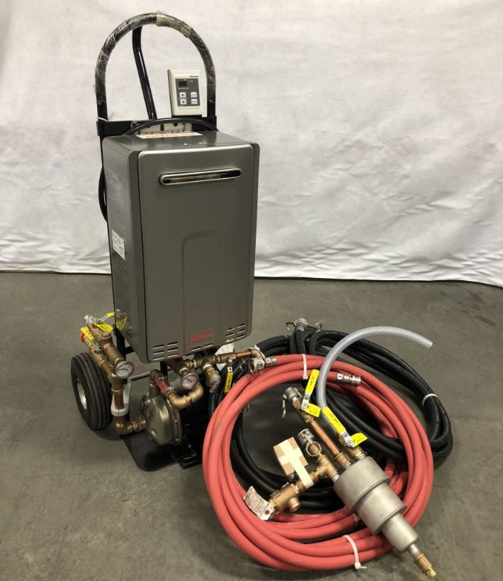 HOT-WATER CURING WITH THE MAXLINER HOTKICK